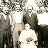 Lisa Oro with her five sons; Otto, Oscar, Alex, Mike and Martin in 1937.