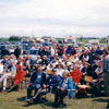 Over 500 people attended the Estonian-Canadian Centennial at Linda Hall near Stettler, Alberta in 1999. It was the largest gathering of Estonians in Alberta's history.