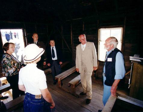 Alberta S Estonian Heritage Estonian President Meri