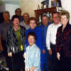 2009 Jaanipaew Committee. L to R: Ron Hennel, Evelyn Shursen, Rodney Hennel, Klaus, Irene Kerbes (front), Gladys Nicklom, Otto Nicklom, Deane Kerbes and Marguerite Kerbes.