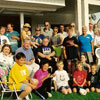 Edmonton Estonian Society's Midsummer festival was celebrated at the Robertson family's home in Leduc, Alberta in 1990.