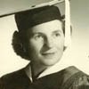 Helmi (Silberman) Munz, daughter of Martin and Lisa Silberman, receives her Master of Arts degree from New York's Columbia University in 1956.