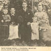 One of Alberta's first Estonian families, members of the Hennel family who settled in Stettler, Alberta, gather for a picture in an undated photograph.