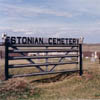 Approximately one hundred Estonian pioneers and their descendents are buried at the Estonian Cemetery near Linda Hall in the Stettler area of Alberta.